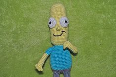 Mr. Poopybutthole with bendable arms and legs Mr.