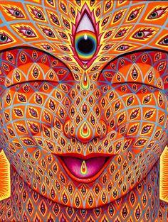 Third Eye Tear of Joy by Alex Grey  Click to purchase.  Art, Fine Art, Contemporary Art, Urban Art, Artist, Future, Interior Design, Giclee, Psychedelic Art