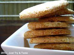 Just Try & Taste: Biskuit Maizena: Lezat & gluten-free!
