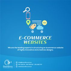 Boundless Technologies is developing #ecommerce #website to start your #online #shop we are the leading experts in structuring an #ecommerce website of highly innovative and creative designs. Our team of talented #Designer and developers are available to fulfill your needs. ADDRESS: Office# G-035, Techno Hub, #Dubai Silicon Oasis, Dubai-#UAE  Phone No: 00971-043350229 00971-569367267, 056 406 7797 PO BOX: 341320  goo.gl/Qvy5Yb  info@boundless.net.ae #onlineshop #winteroffer #winterdeal