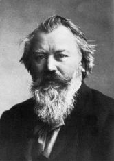 Johannes Brahms  1833-1897.German composer