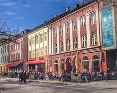 Oslo's Grünerløkka neighborhood