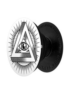Let the all seeing eye keep watch over your mobile device with this awesome PopSocket! Featuring The Eye of Providence this iconic symbol sees an eye enclosed by a triangle as rays of light radiate from it. Stick this handy gadget to your phone to make mobile viewing seamless. Design exclusive to Grindstore