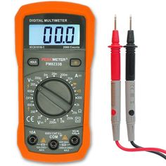 Digital Multimeter AC/DC Voltage Tester Electrical Battery Circuit Detector Continuity Capacitance Test Tool Volt Ohm Outlet Multi Meter Ammeter Voltmeter for Automatic Household Use Aidbucks MS8233B >>> Awesome product. Click the image : DIY : Do It Yourself Today