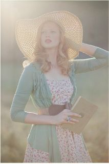 looks like Spring Modest Fashion, Fashion Outfits, Women's Fashion, Preppy Style, My Style, Floppy Straw Hat, Dress Up Day, Lookbook, Pretty Outfits