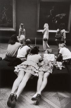 Alécio de Andrade. The Louvre and its visitors