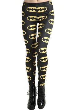 Colorful Leggings Featuring Iron Man, Batman, And More $22