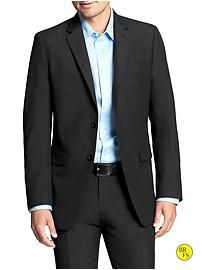 Factory Tailored Slim-Fit Black Blazer