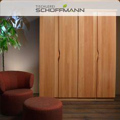 Buche massiv / Rillenfräsung / geschwungener Griff Divider, Curtains, Room, Furniture, Home Decor, Carpentry, Wardrobe Closet, Bedroom, Blinds