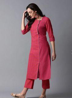 Silk Kurti Designs, Simple Kurta Designs, Churidar Designs, Kurta Designs Women, Kurti Designs Party Wear, Stylish Dress Designs, Latest Kurti Designs, Plain Kurti Designs, Latest Kurti Styles