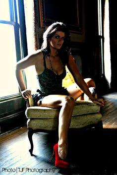 Raw Boudoir - TJF Photography - Jenee Michelle