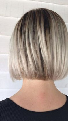 #bridehairstyles #longhairstyles Bob Hairstyles For Thick, Haircuts For Fine Hair, Men Hairstyles, Summer Hairstyles, Trending Hairstyles, Short Highlighted Hairstyles, Neck Length Hairstyles, Short To Medium Haircuts, Choppy Bob Hairstyles For Fine Hair