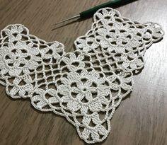 Crochet Motifs, Crochet Borders, Crochet Doilies, Crochet Lace, Crochet Stitches, Crochet Hooks, Crochet Patterns, Crochet Square Blanket, Crochet Squares