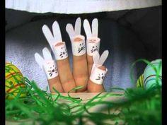 Sechs Häschen - Fingertheater - Fingerspiel - Kindergedicht von Thomas K...