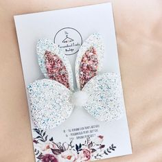 Easter Hair Bow on clip for girls for toddlers Easter gift alligator clip bunny hair bow easter themed gift Hair Fashions Making Hair Bows, Diy Hair Bows, Ribbon Hair, Ribbon Flower, Fabric Flowers, Handmade Hair Bows, Hair Bow Tutorial, Flower Tutorial, Headband Tutorial
