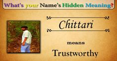 Check my results of Whats Your Names Hidden Meaning? Facebook Fun App by clicking Visit Site button