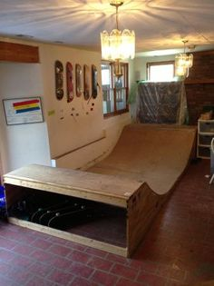 half pipe skateboard, totally need that for my room