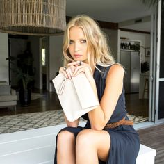 Stitch & Hide Lily Clutch - Ivory - The Style Merchant Online Shopping Australia, Girls Wardrobe, Small Wallet, Vegetable Tanned Leather, Minimal Design, Leather Accessories, Leather Clutch, Wallets For Women, Soft Leather