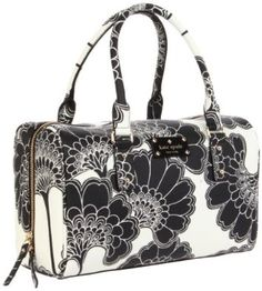 I love black and white bags and clothes. Bag by Kate Spade. Priced at $278.