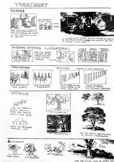 "aapstra: "" Layout Hand-Outs by Rowland B. Wilson (1930-2005). A repost from some time ago. Some very helpful reference, I keep these pinned to the wall next to my desk. Yesterday I posted some of..."