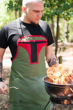 Star Wars Boba Fett inspired mens apron