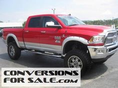 2014 ram 2500 laramie diesel rocky ridge altitude lifted truck - Dodge Ram 2500 2014 Red