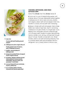 """I saw this in """"What's for Dinner?"""" in Martha Stewart Living June 2014."""