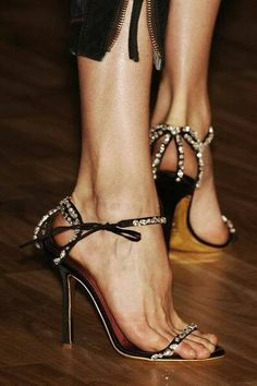 Shoes that look like ornaments are always appropriate during the holidays