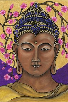 """Buddha Natur/signiert 11 """"17"""" Print auf Fotopapier"""