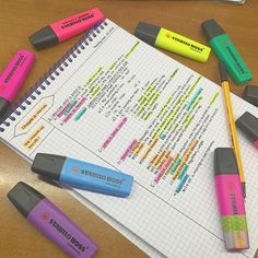 Still revisin dem notes :,( #study #studyblr #studygram #markers #washitape #music #pens #forces #colors #notes #note #notetaking