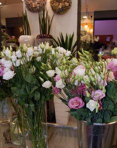 Unas flores muy primaverales los lisianthus  #lisianthus #flores #primavera
