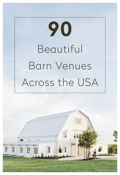 Find unique venues to celebrate, getaway and gather. A guide to gathering locations and events in communities in over 200 cities across the globe. Barn Wedding Venue, Barn Weddings, Cowboy Weddings, Outdoor Weddings, Wedding Signs, Rustic Wedding, Yosemite Wedding, White Barn, Barn Plans