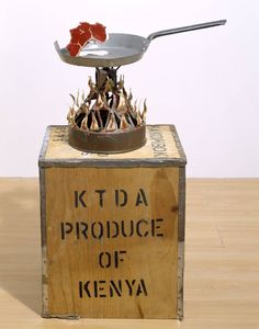 'Well Done!', Bill Woodrow, 1987 | Tate  tate.org.uk1206 × 1536Search by image  Artwork page for 'Well Done!', Bill Woodrow, 1987 Well Done! comments on the exploitation of Africa by Western governments, corporations and financial interests. The silhouette of Africa,...