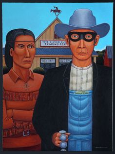 David Bradley, American Indian Gothic: Tonto & Lone Ranger Revisited