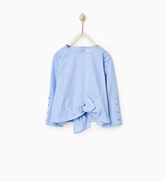 Image 1 of KNOT SHIRT from Zara