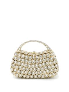 Shop Clutches - Golden Magnetic Evening Clutch online. Discover unique designers fashion at StyleWe.com.