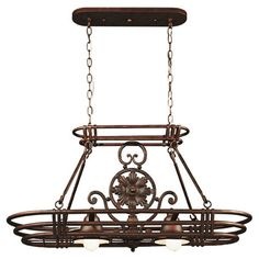 I pinned this Vinci Pendant & Pot Rack in Bronze from the Design Craft event at Joss and Main!