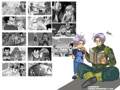 future Trunks watching how his dad has chnged *-* by Sandra-delaIglesia | Aren't we all??
