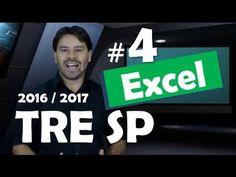 Excel 2013 Concurso TRE SP 2016 2017 Informática # 4