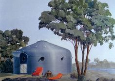 Bucky Fuller's grain silo houses found in New Jersey : TreeHugger