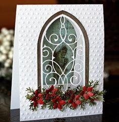 The Urban Scrapbook inc.: MEMORY BOX GOTHIC WINDOW CARD