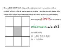 Curso de Raciocínio Lógico Sequência números Quadrado mágico Teste psico... https://youtu.be/teOE4coVWOg