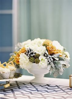 Florals always freshen a room.  Treat yourself to an arrangement for the most used room in your home!