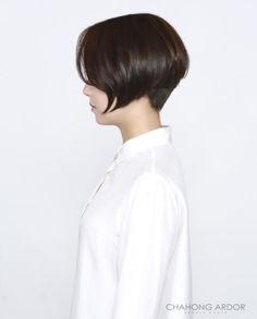 단발머리 단발스타일 보브컷 쿠션펌 단발웨이브 숏컷 헤어스타일 차홍아르더 Nana Cushion perm : 네이버 블로그