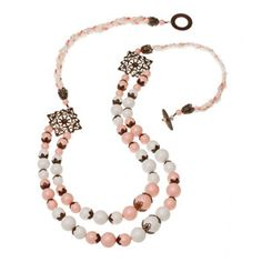 Love Affair Necklace   Fusion Beads Inspiration Gallery - another statement, chunky necklace.