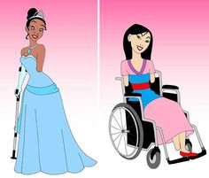 Alexsandro, disabled, princesses,