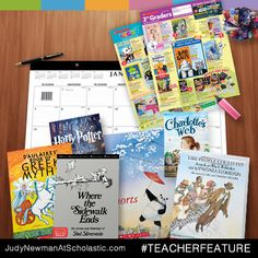 On our new blog, judynewmanatscholastic.com, you'll find Teacher Feature, where great teachers help kids find books they love! #JNBlog #Blog #TeacherFeature #ClassroomTips #Teachers