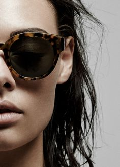 Karen Walker Eyewear Anywhere Sunglasses (Crazy Tortoise)