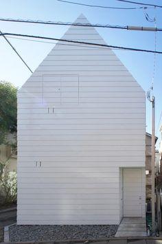 japan-architects.com: Niji Architectsによる「鷹番の長屋」