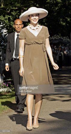 Princess Mary, August 19, 2005 in Susanne Juul